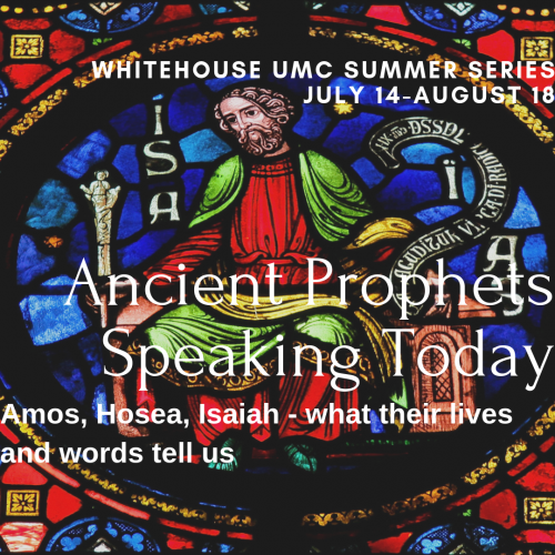 Ancient Prophhets Speaking Today