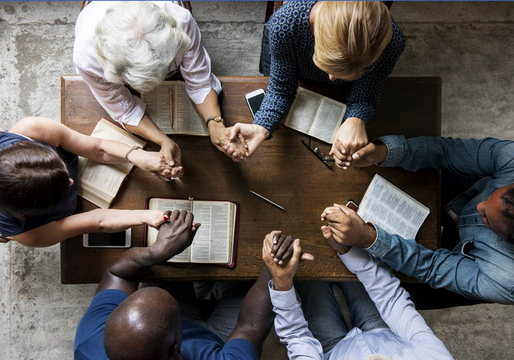 Our congregation believes Scripture is the best tool we can use to get to know God and God's will for our lives. Click through to find our about our mid-week Bible study groups.